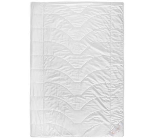 LEICHTDECKE 140/200 cm - Weiß, Basics, Weitere Naturmaterialien (140/200cm) - Schlafmond
