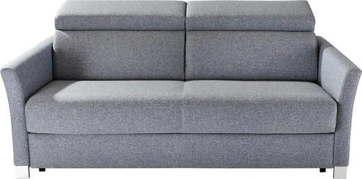 SCHLAFSOFA Flachgewebe Dunkelgrau - Dunkelgrau/Silberfarben, Design, Holz/Textil (185/100/100cm) - Bali