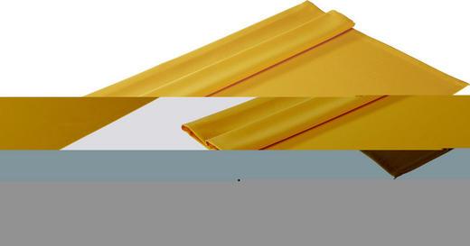 TISCHDECKE Textil Gelb 100/100 cm - Gelb, Basics, Textil (100/100cm)