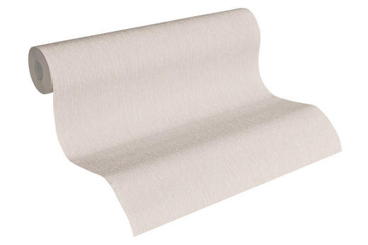 VLIESTAPETE 10,05 m - Beige, Design, Textil (53/1005cm)