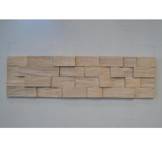 WANDPANEEL - Eichefarben/Weiß, LIFESTYLE, Holz (78/18cm) - Ambiente
