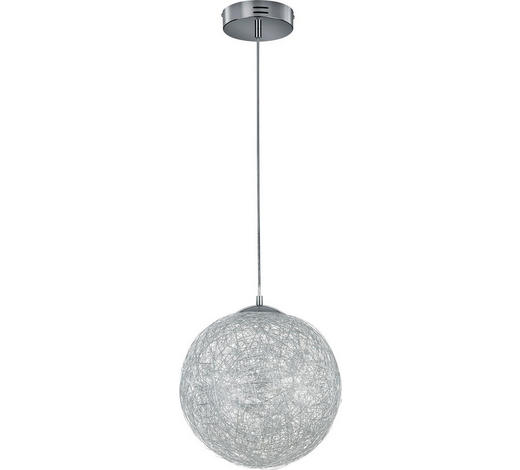LED-HÄNGELEUCHTE   - Chromfarben, Design, Metall (30,0/150,0cm)