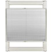 Plissee 60/130 cm - Weiß, Design, Textil (60/130cm) - Homeware