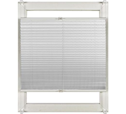 PLISSEE 80/210 cm  - Weiß, Design, Textil (80/210cm) - Homeware