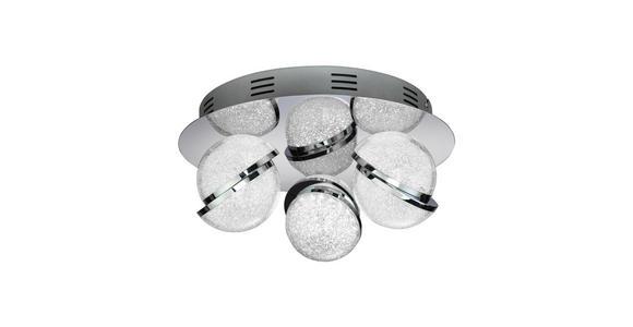 LED-DECKENLEUCHTE - Klar, KONVENTIONELL, Kunststoff/Metall (35/15cm) - Ambiente