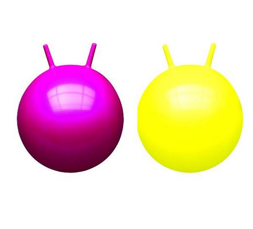 LOPTA ZA IGRU - pink/žuta, Basics, plastika (23/17,5/8cm)