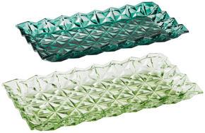 DEKORATIONSBRICKA - Trend, glas (34/17/3,5cm)