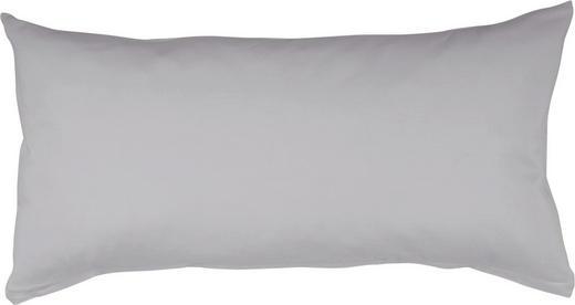 KOPFKISSENBEZUG Platinfarben 40/80 cm - Platinfarben, Basics, Textil (40/80cm) - SCHLAFGUT