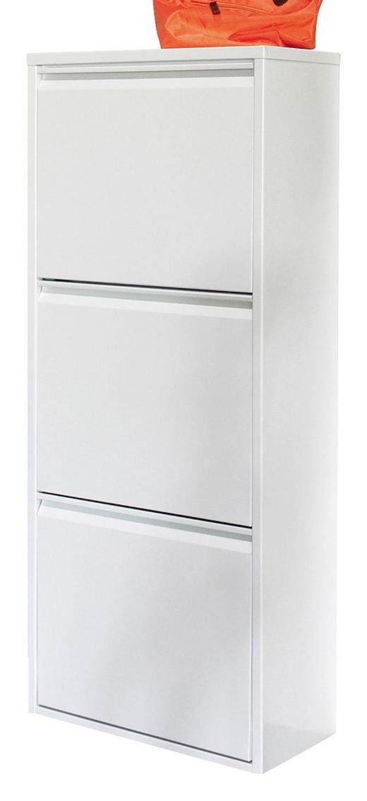 SCHUHKIPPER Weiß - Weiß, Design, Metall (50/118/23cm) - Carryhome