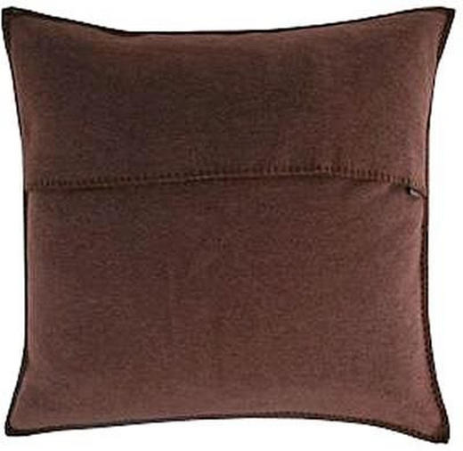 KISSENHÜLLE Dunkelbraun 50/50 cm - Dunkelbraun, Basics, Textil (50/50cm) - Zoeppritz