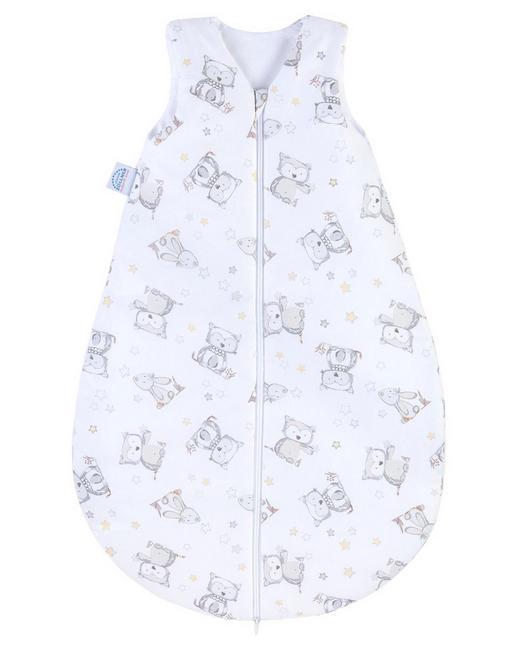 BABYSCHLAFSACK - Weiß, Basics, Textil (90cm) - Zöllner