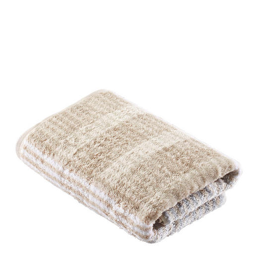 HANDTUCH 50/100 cm - Sandfarben, Basics, Textil (50/100cm) - Cawoe