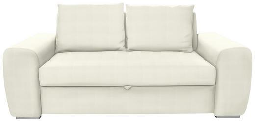 SCHLAFSOFA in Textil Naturfarben - Chromfarben/Naturfarben, Design, Holz/Textil (199/92/97cm) - Hom`in