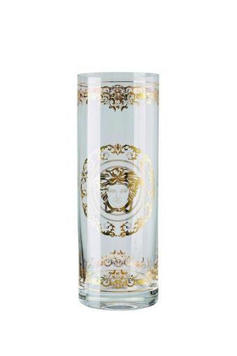 VAZA CRYSTAL MEDUSA GALA - zlata/prozorna, Konvencionalno, steklo - VERSACE