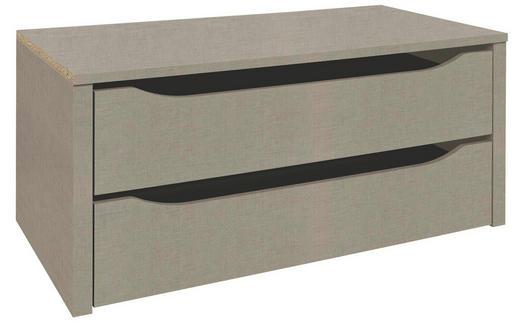 SCHUBKASTENEINSATZ Beige - Beige, Design (88/39/45cm) - Carryhome