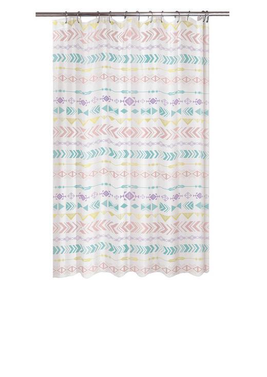 DUSCHVORHANG - Multicolor, Trend, Textil (180/200cm) - Kleine Wolke