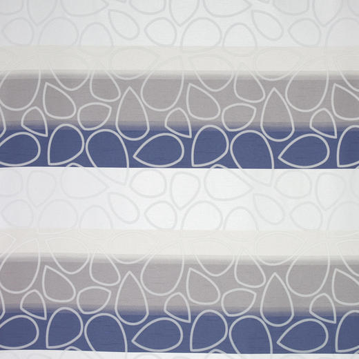 DEKOSTOFF per lfm blickdicht - Blau/Grau, KONVENTIONELL, Textil (140cm) - Esposa
