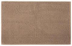 BADEMATTE   Sandfarben   - Sandfarben, Basics, Kunststoff/Textil (50cm) - Boxxx