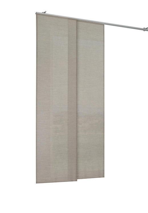 FLÄCHENVORHANG   halbtransparent   60/245 cm - Taupe, Basics, Textil (60/245cm) - Novel
