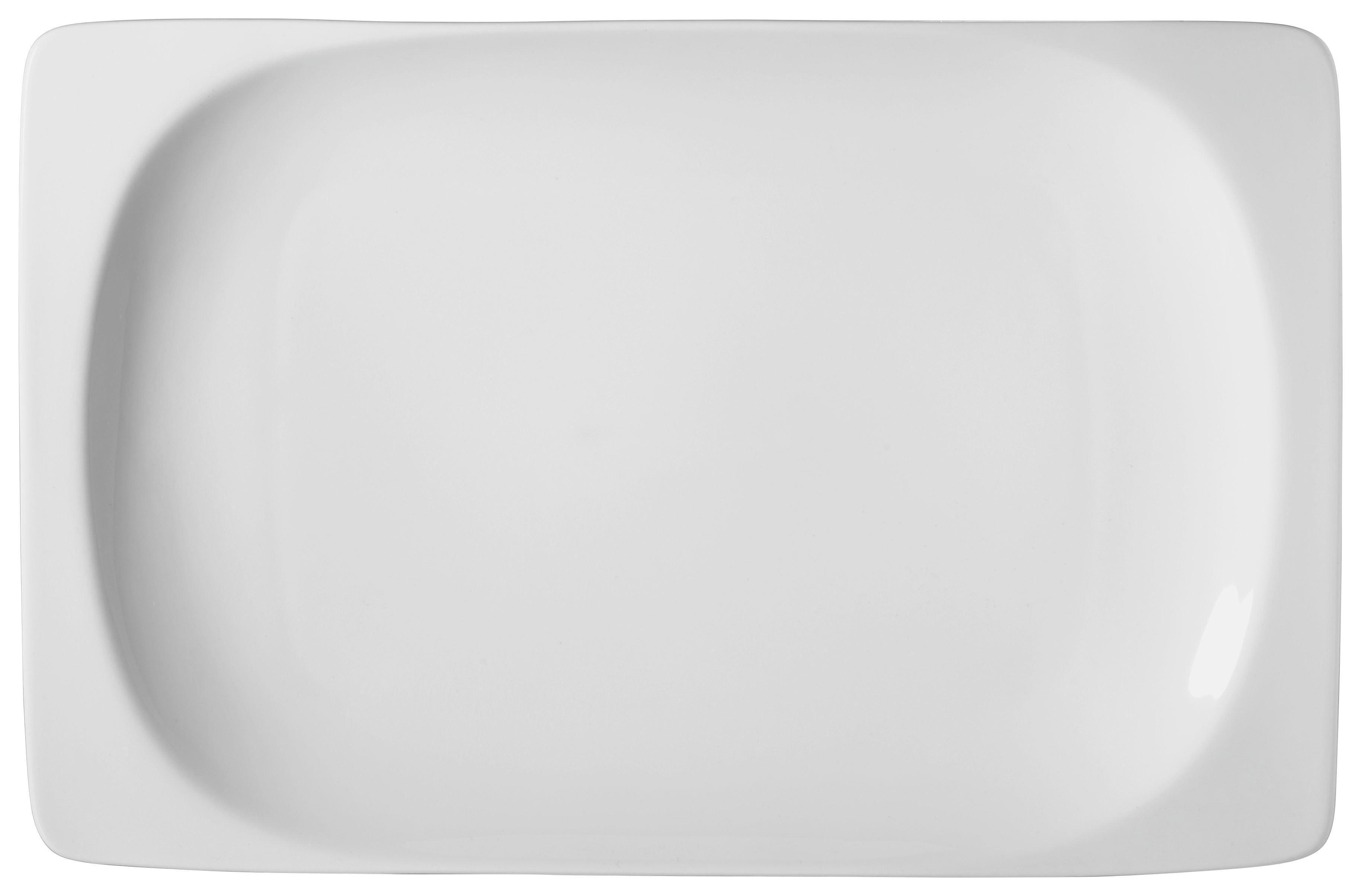 SERVIERPLATTE - Weiß, Basics (19/29/3cm) - RITZENHOFF BREKER