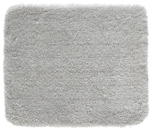 BADTEPPICH  Grau  55/65 cm - Grau, Basics, Kunststoff/Textil (55/65cm) - KLEINE WOLKE
