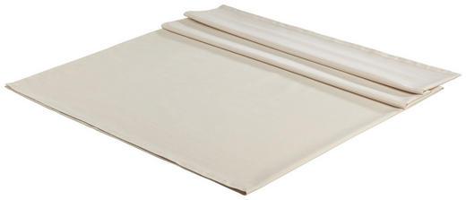 TISCHDECKE Textil Leinwand, Struktur Beige 140/180 cm - Beige, Basics, Textil (140/180cm) - Novel