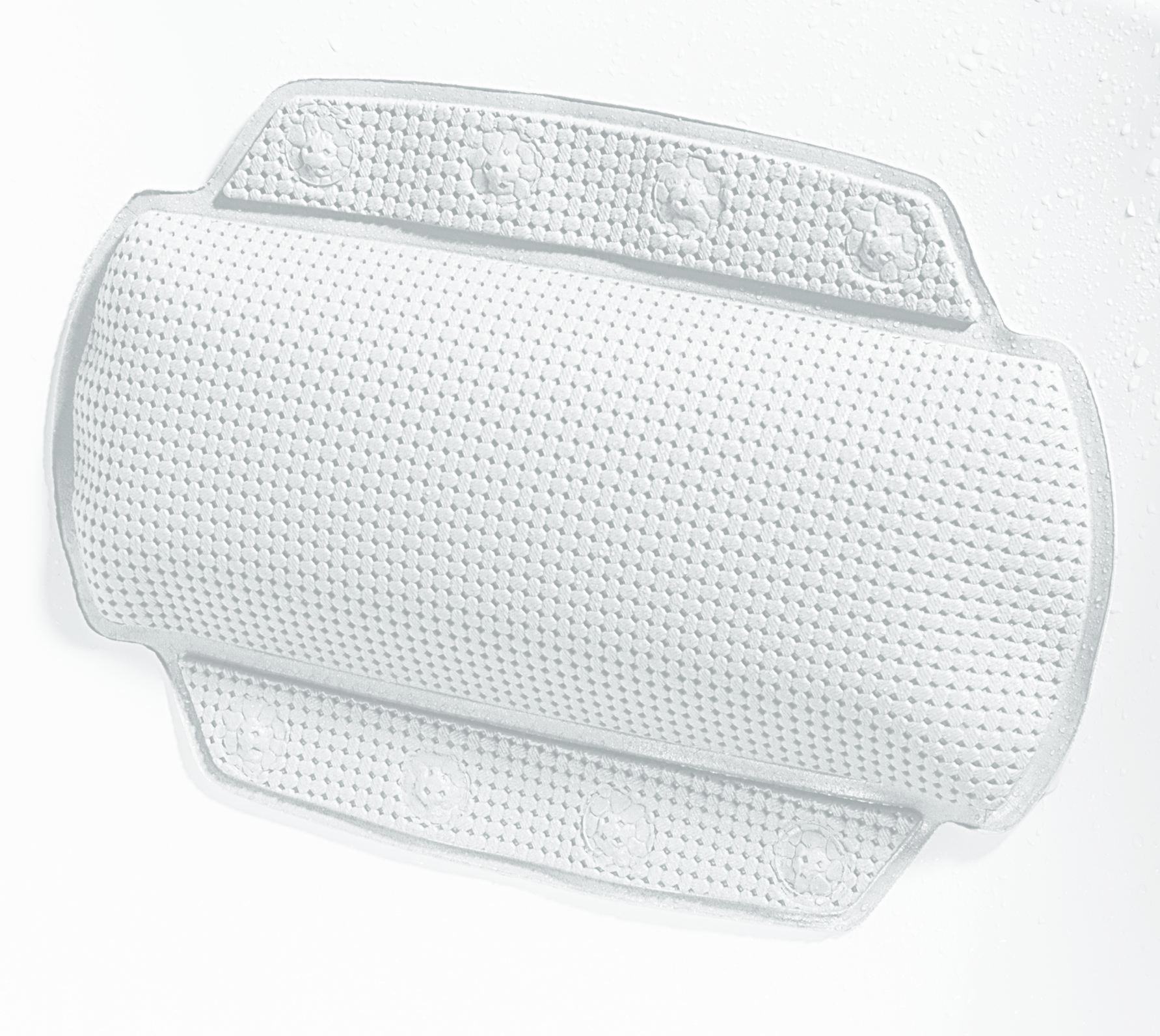 BADEWANNENKISSEN - Weiß, Basics, Kunststoff (32/23cm) - SPIRELLA
