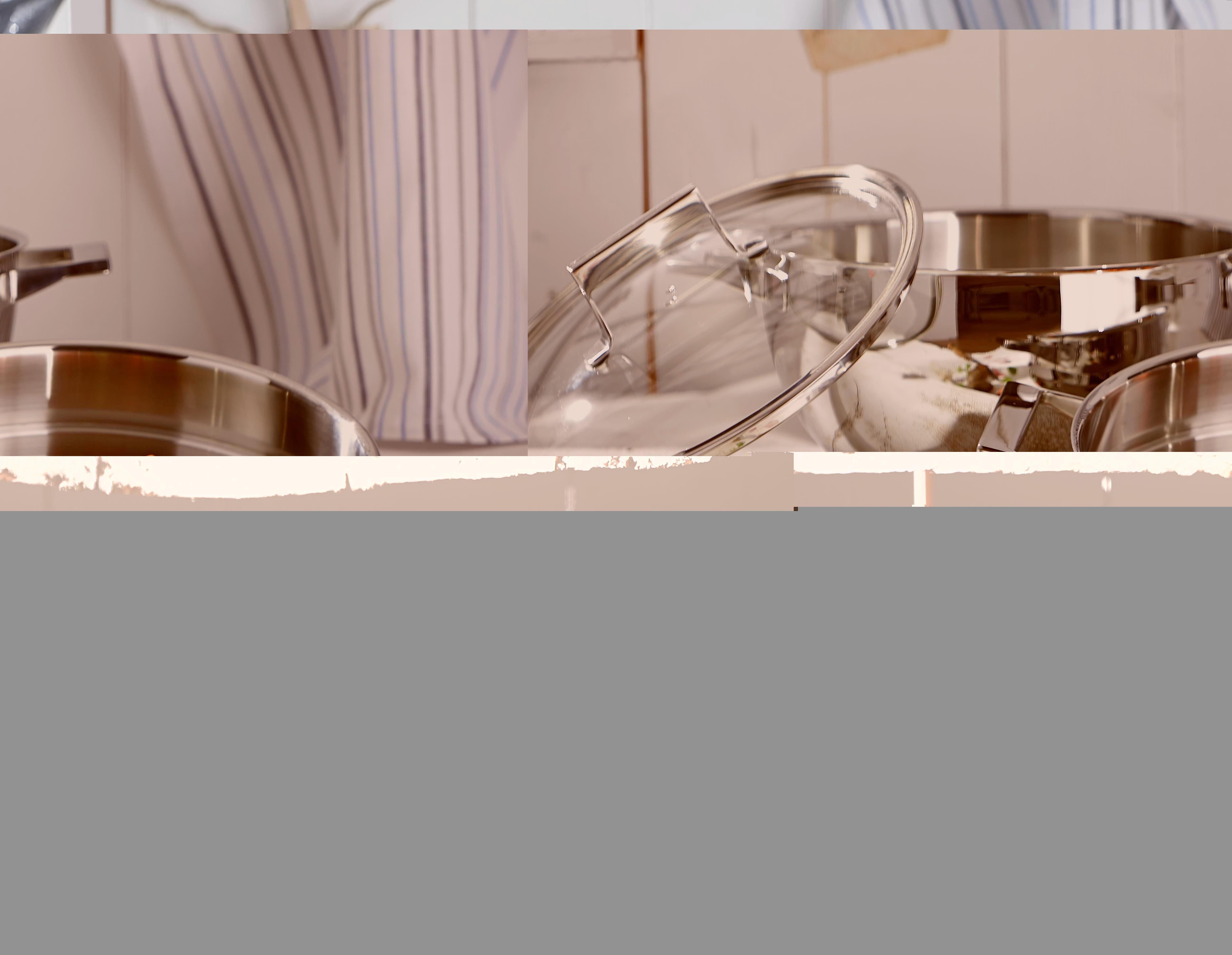 SCHMORTOPF - Klar/Edelstahlfarben, Glas/Metall (26cm) - HOMEWARE