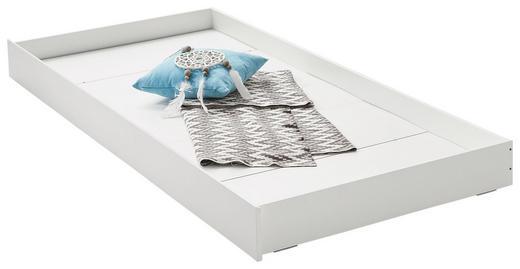 BETTKASTEN 95,1/16/204,8 cm Weiß - Weiß, Design (95,1/16/204,8cm) - Xora