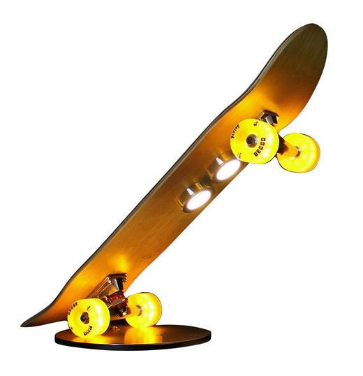 LED-TISCHLEUCHTE - Edelstahlfarben, Design, Holz/Metall (53,5cm)