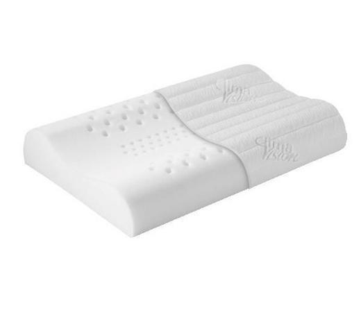 NACKENSTÜTZKISSEN 40/65 cm  - Weiß, Basics, Textil (40/65cm) - Sembella