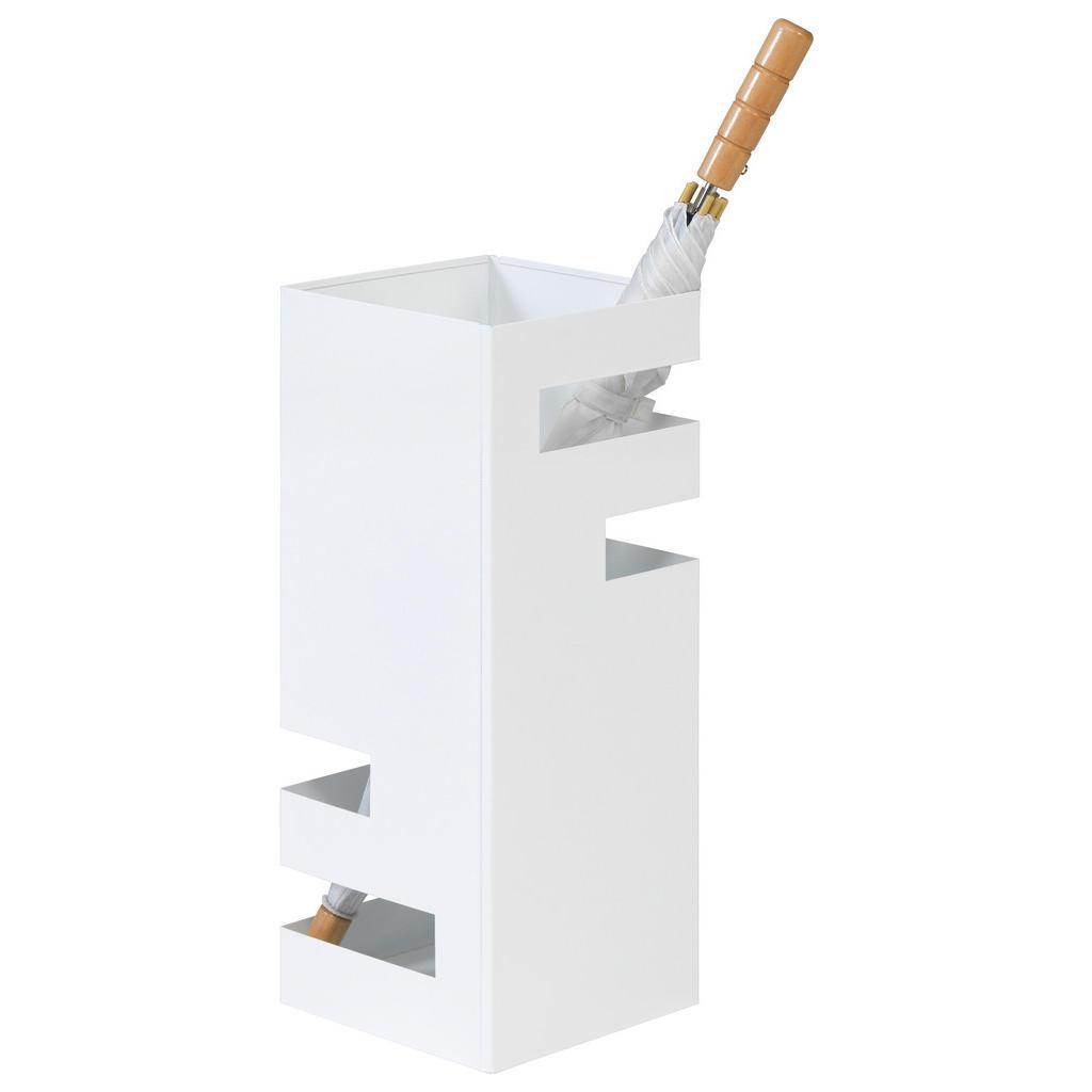 Xora Schirmständer metall weiß