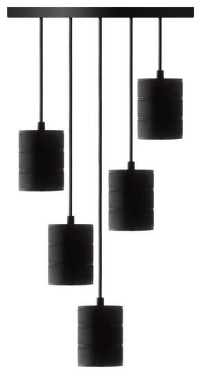 LAMPUPPHÄNG - svart, Basics, metall (43/200cm) - Calex