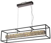 LED-HÄNGELEUCHTE   - Klar, Design, Glas/Metall (23,5/90cm) - Ambiente