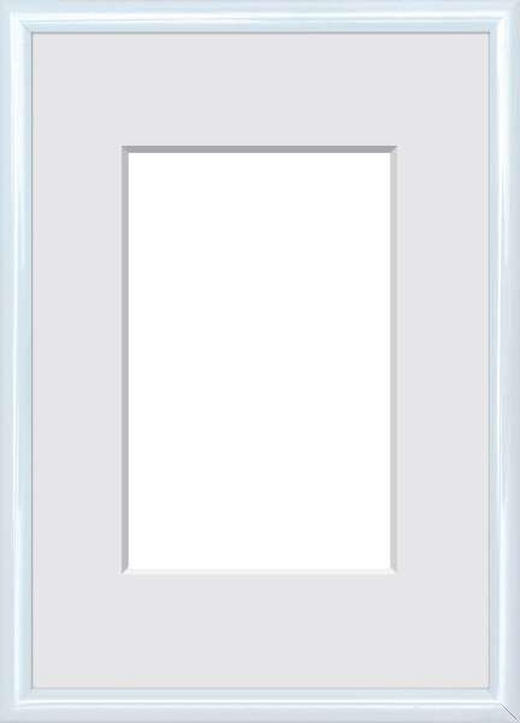 BILDERRAHMEN  Weiß - Weiß, Basics, Glas/Kunststoff (25/19/1.75cm)