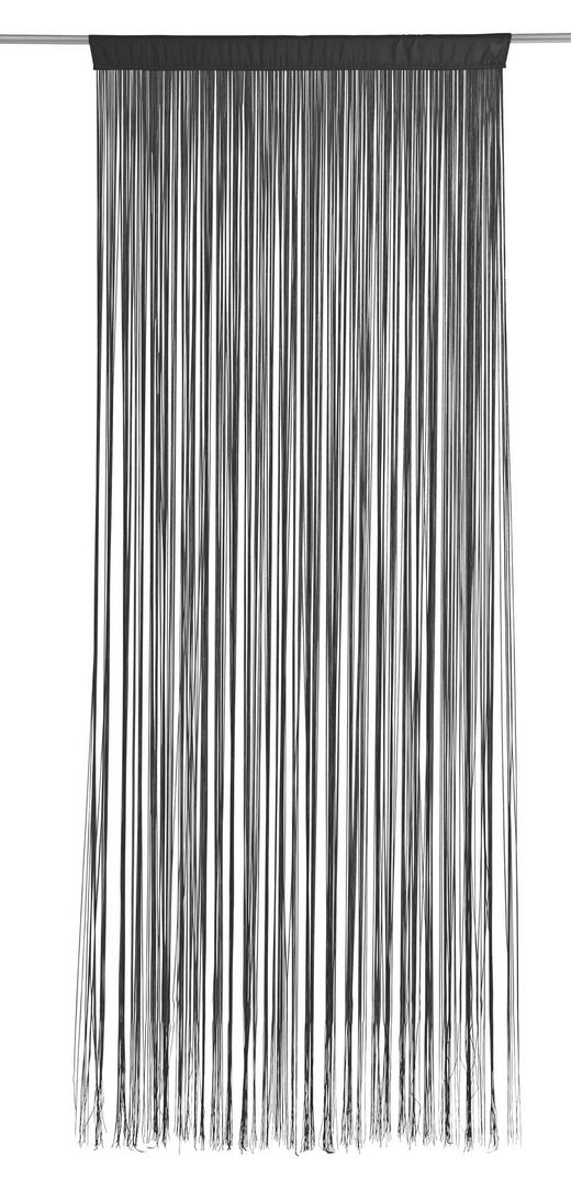 FADENSTORE  transparent  90/245 cm - Schwarz, Basics, Textil (90/245cm) - BOXXX
