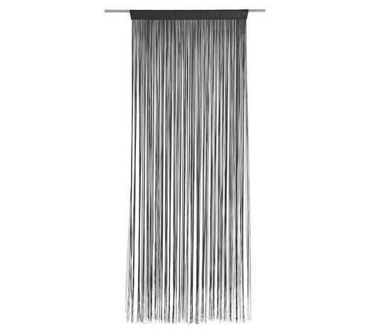 FADENSTORE   Schwarz   90/245 cm   - Schwarz, Basics, Textil (90/245cm) - Boxxx