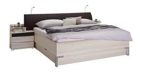 BETTANLAGE 180/200 cm - Lärchefarben/Braun, Design, Textil (180/200cm) - Dieter Knoll