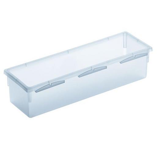 BOX ÚLOŽNÝ, umělá hmota - čiré, Basics, umělá hmota (23/8/5cm) - Rotho