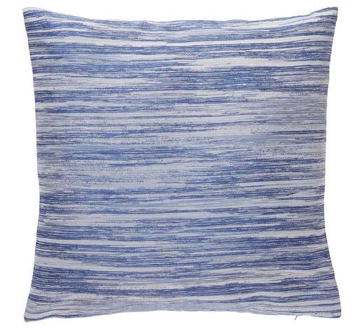 ZIERKISSEN 50/50 cm - Blau, KONVENTIONELL, Textil (50/50cm) - Novel
