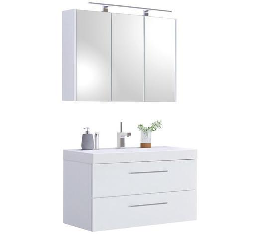 Badezimmermöbel in Weiß Hochglanz 100 cm entdecken