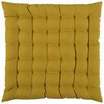 SITZKISSEN  - Gelb, Basics, Textil (38/38cm) - Novel