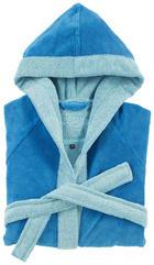KINDERBADEMANTEL - Blau, Konventionell, Textil (116) - Vossen