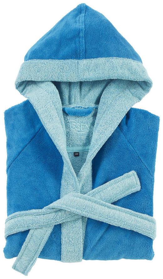 KINDERBADEMANTEL - Blau, KONVENTIONELL, Textil (116null) - Vossen