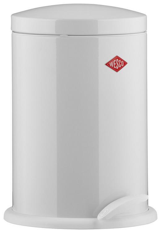 ABFALLSAMMLER 13 L - Schwarz/Weiß, Basics, Kunststoff/Metall (27/41cm) - Wesco
