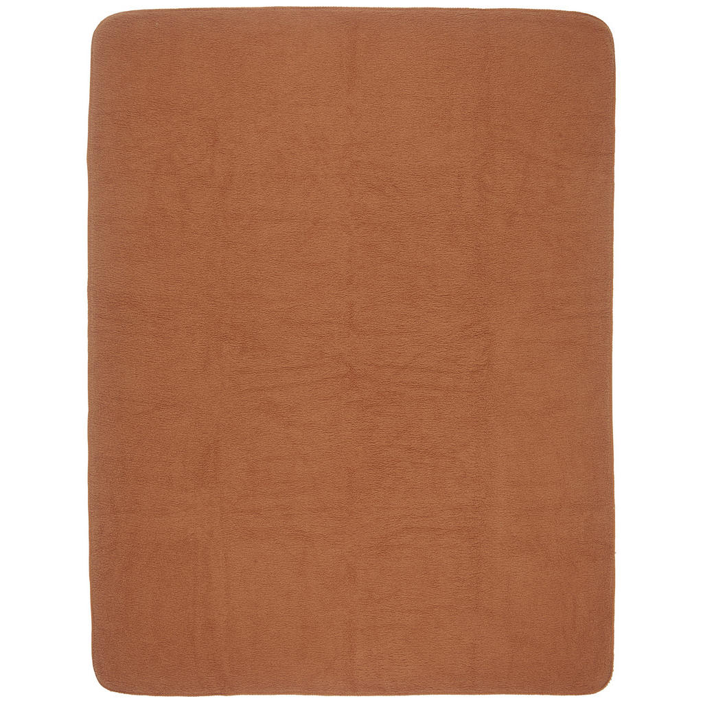 Novel Wohndecke 150/200 cm rostfarben