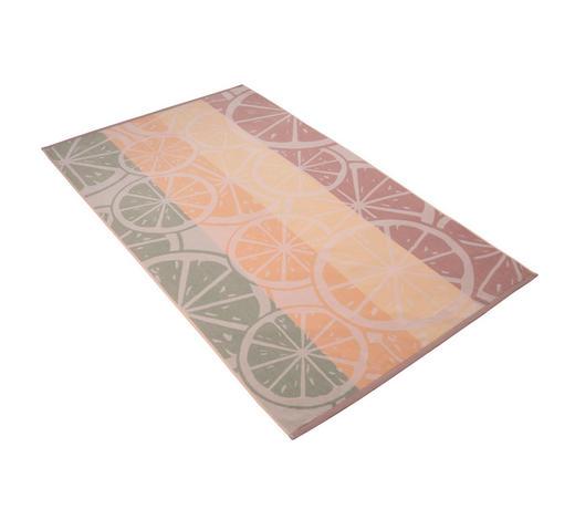 STRANDTUCH 100/180 cm - Beige/Pastellgrün, KONVENTIONELL, Textil (100/180cm) - Vossen