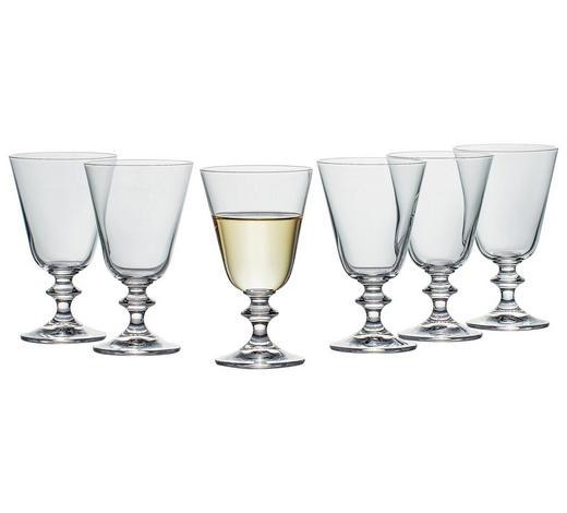 GLÄSERSET 6-teilig - Klar, Basics, Glas (0,23l) - Novel