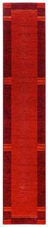 LÄUFER  80/240 cm  Rot, Schwarz - Rot/Schwarz, Basics, Textil (80/240cm) - Novel