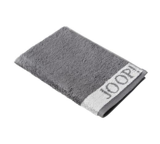 GÄSTETUCH 30/50 cm - Weiß/Grau, Design, Textil (30/50cm) - Joop!